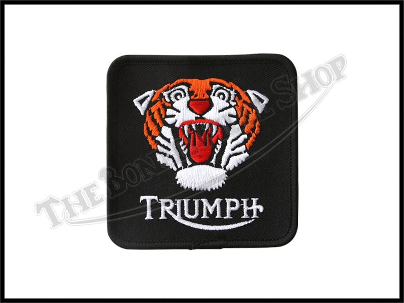 """Large Tiger Head Embroidered Patches 9/""""x7.75/"""""""